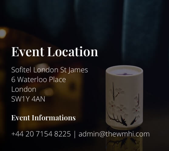 Event location - Sofitel London St James